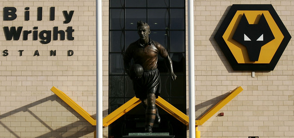 Estatua de Billy Wright, capitán y estrella de aquel Wolverhampton que se impuso al Honved/ Getty Images
