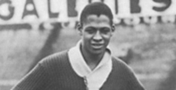 Raoul Diagne, primer futbolista de raza negra de la selección francesa/ RCP