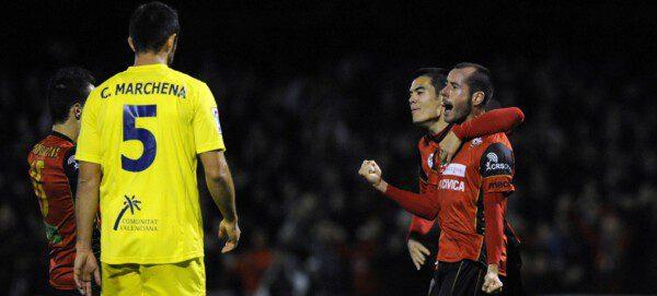 El Mirandés apeó a tres 'Primeras' para llegar a las semifinales de la Copa del Rey en 2012/ Villagráfica