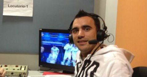 Oriol Alòs, periodista de Gol Televisión, aceptó la llamada de La Paradinha/ Facebook
