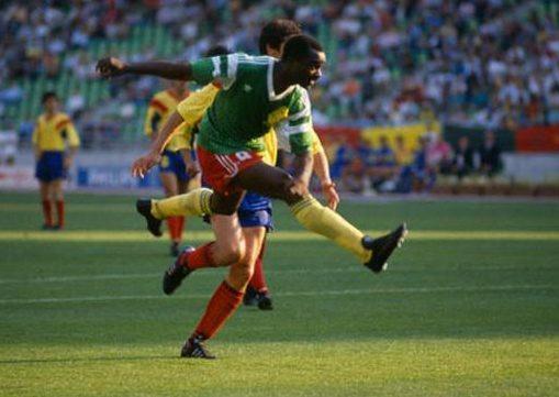 Roger Milla, un mito del fútbol camerunés/ Eric Renard