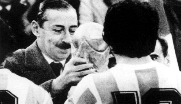 Jorge Videla instrumentalizó a su favor el mundial/ AFP