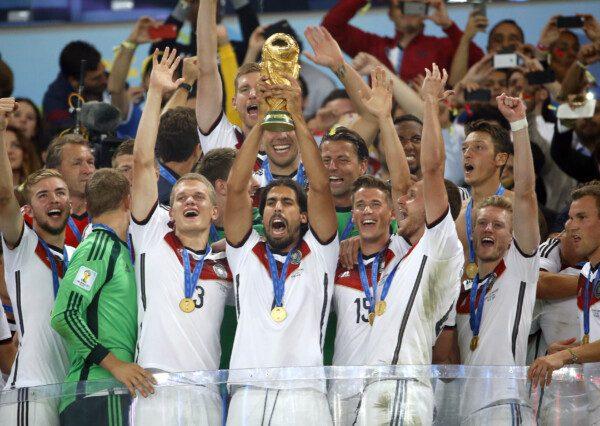 La selección alemana consiguió su cuarto cetro mundial/ José Antonio Sanz