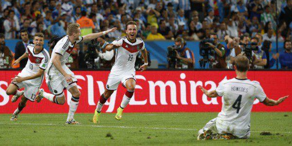 Mario Götze marcó el gol que le daba el título a Alemania/ José Antonio Sanz
