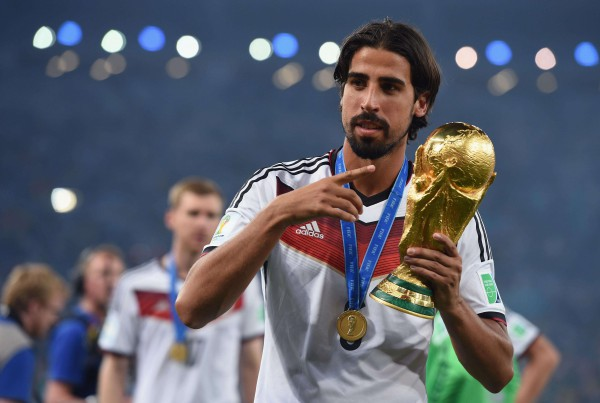 Sami Khedira, pieza fundamental en la Mannschaft/ Getty Images