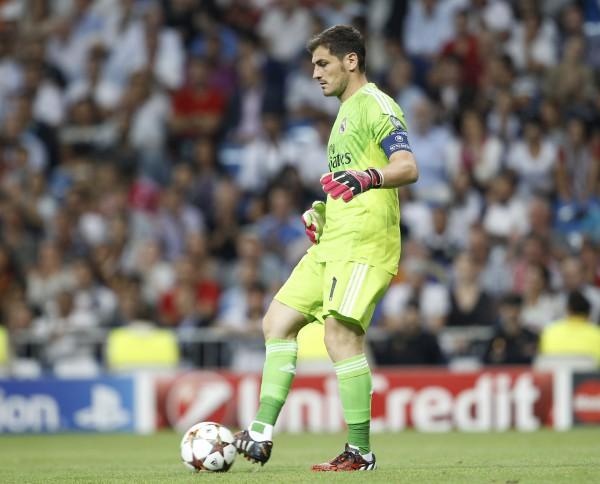 Casillas, centro de la polémica/ Ángel Rivero
