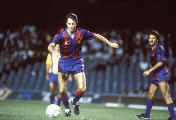 Johan Cruyff, para muchos el mejor futbolista del mundo/ Getty Images