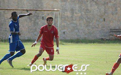 Nidhal Selmi jugando con el filial del Étoile Sahel/ PowerESS
