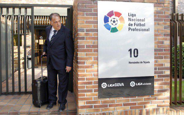 Javier Tebas se ha pronunciado sobre la consulta catalanista/ Pablo Moreno