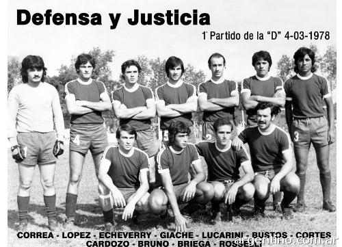 Estos fueron los once primeros hombres en luchar por el Defensa y Justicia/ argentino.con