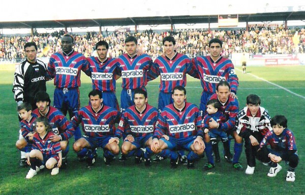El Extremadura, el último equipo extremeño en Primera División/ Félix C.