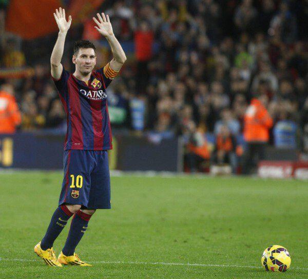 Leo Messi superó el registro de Zarra/ Frances cAdelantado