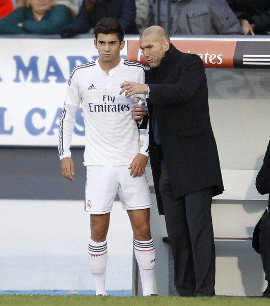 Zinedine Zidane hizo debutar a su hijo Enzo/ Ángel Rivero