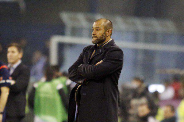 Nuno ha tenido su primer traspié en Copa del Rey/ Jorge Landín