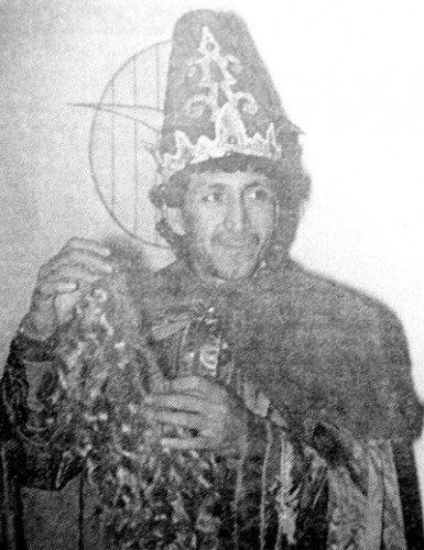 Mágico González fue rey mago en / Gaditanis