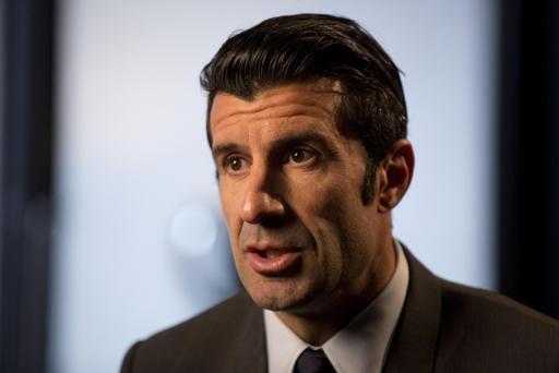 Luis Figo ha presentado su candidatura a presidir la FIFA/ AP
