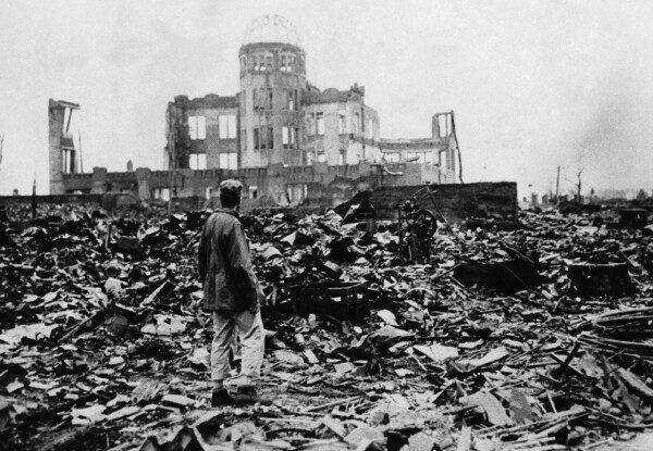 Hiroshima fue prácticamente destruida/ AP