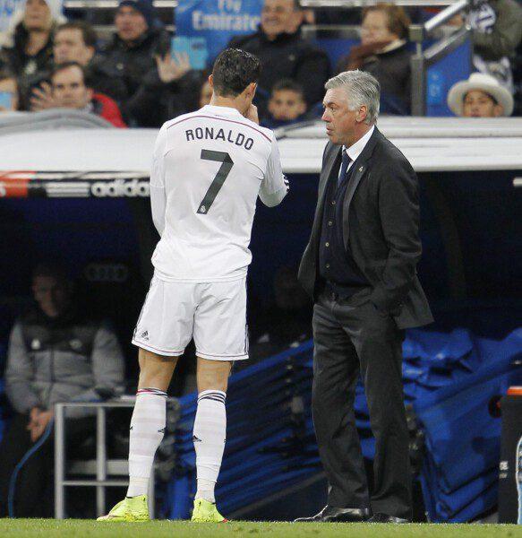 Carlo Ancelotti ha sido señalado por su mano blanda/ Ángel Rivero