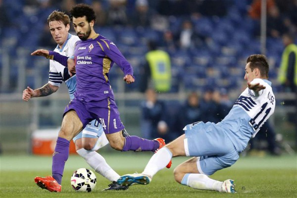 Mohamed Salah, la nueva estrella de la Fiorentina/ Getty Images