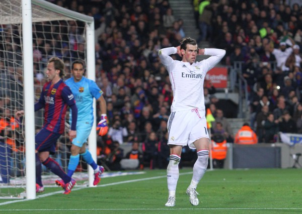 El gol de Bale fue anulado correctamente/ JOMA