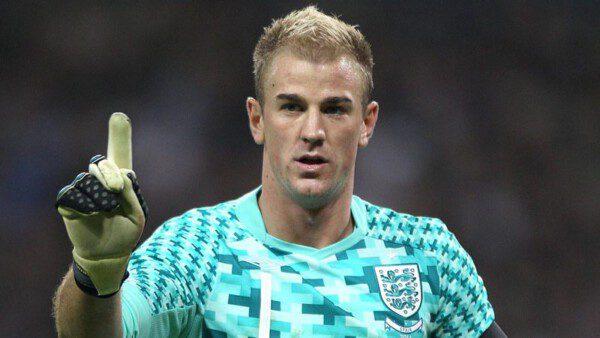 Joe Hart es de lo 'mejorcito' que tiene Inglaterra ahora/ Getty Images