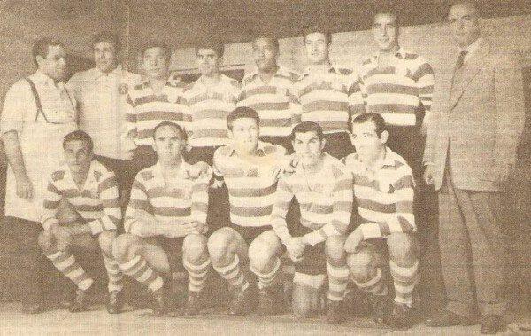 David Jlius (arriba en el centro) se convirtió en una figura del Sporting lisboeta/ SCP