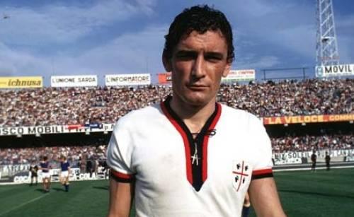 Gigi Riva, estrella indiscutible del Cagliari/ G.F.