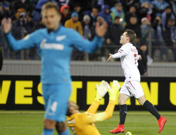 El gol de Gameiro en San Petersburgo evitó la prórroga/ Ramón Navarro
