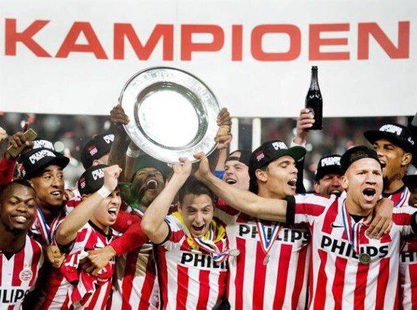 El PSV se ha hecho con la Eredivisie esta campaña/ EFE
