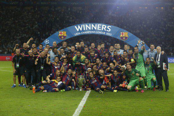 El Barcelona logra su quinta Copa de Europa/ Francesc Adelantado