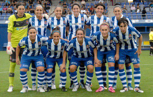 El Espanyol que tuvo entre sus filas a jugadoras como Torrejón y Meseguer, obligado a disolverse/ RCDE