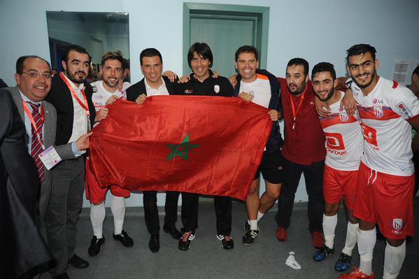 Sergio Lobera ha congeniado con la afición marroquí gracias a su buen trabajo/ MAT