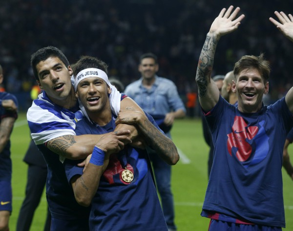 La tripleta Messi, Suárez y Neymar decisiva para los éxitos azulgranas/ Francesc Adelantado