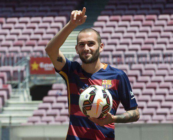 Aleix VIdal una de las nuevas caras en Can Barça/ Paco Largo