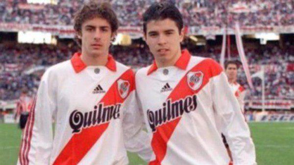 Pablo Aimar y Javier Saviola volverán a reunirse en River/ Infobae