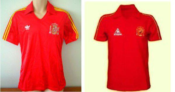 Adidas y Le Cof Sportif las primeras y únicas marcas en vestir a España/ CS