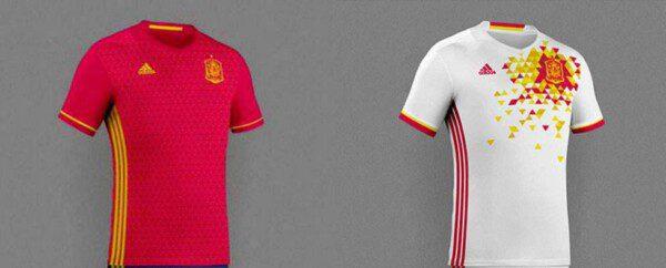Las supuestas camisetas de España para la Euro 2016/ TCH