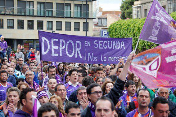 El Guadalajara fue otra víctima de los descensos administrativos/ EFE