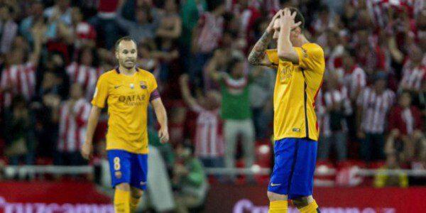 El Barcelona dio muestras de falta de intensidad en sus dos primeros compromisos oficiales/ EFE