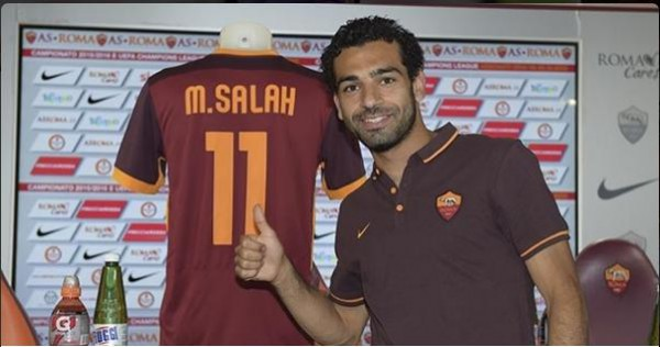Mohamed Salah ha recalado en la Roma/ Getty Images