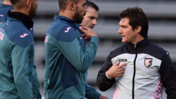 Schelotto vio como el Palermo le endosaba cuatro goles al Udinese el pasado fin de semana/ TyC