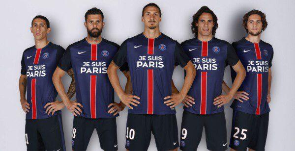 El París Saint-Germain homenajeó a las víctimas del atentado del pasado 13 de noviembre/ PSGFC