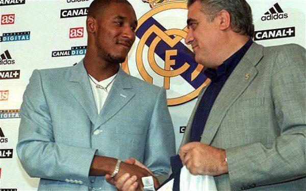 Su estancia en el Real Madrid le valió a Anelka para ganar la Champions/ AP