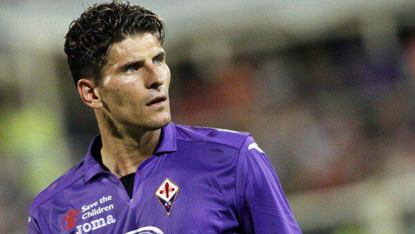 Mario Gómez no mostró su mejor versión en la Fiorentina/ Wikimedia