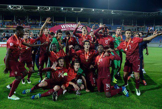 La selección portuguesa conquistó ayer el Europeo sub 17/ UEFA
