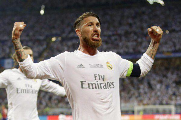 Sergio Ramos, una final más, volvió a ser decisivo/ AP