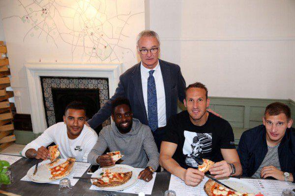 La pizza, el arma secreta de Ranieri para motivar a sus jugadores/ Getty Images