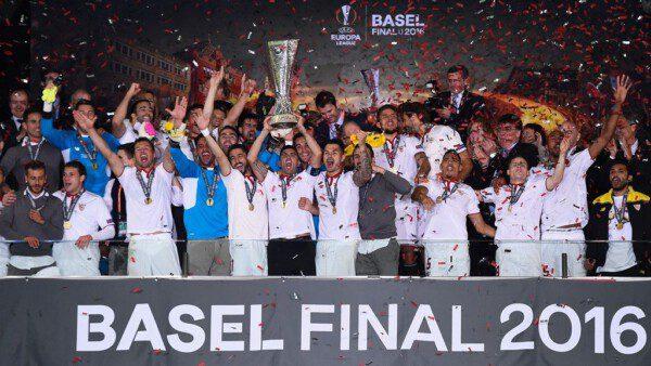 El Sevilla volvió a hacer historia y ya suma cinco títulos de Europa League/ Getty Images