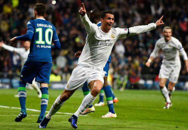 Cristiano Ronaldo resolvió el solo la eliminatoria ante el Wolfsburgo/ Getty Images