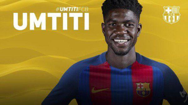Junto a Lucas Digne, Samuel Umtiti formará el nuevo eje defensivo del Barcelona / EP